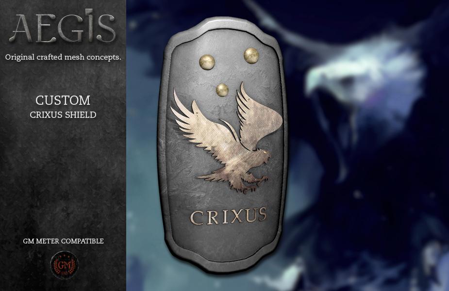 AEGIS-Crixus-eagle-shield
