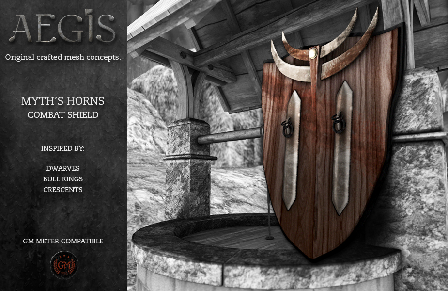 AEGIS-Myths-Horns-Shield